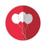 La partie décorative monte en ballon l'air Image libre de droits