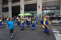 La partie 33 de défilé de danse de 2015 NYC Photo stock