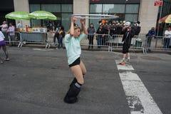 La partie 33 de défilé de danse de 2015 NYC Photographie stock libre de droits