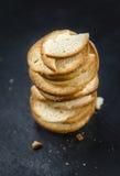 La partie de pain ébrèche (le foyer sélectif) image stock