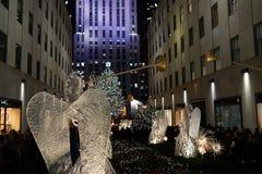 La partie 2015 de Windows de vacances de Fifth Avenue 31 Images stock