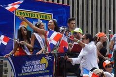 La partie dominicaine 42 de défilé de jour de 2015 NYC Photographie stock