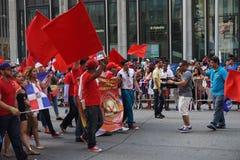La partie dominicaine 59 de défilé de jour de 2015 NYC Photo libre de droits