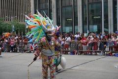 La partie dominicaine 66 de défilé de jour de 2015 NYC Photographie stock libre de droits