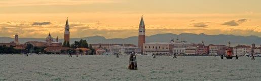 La partie secrète de la lagune de Venise Image stock
