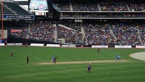 La partita 2015 delle Tutto stelle del cricket a New York Fotografie Stock Libere da Diritti