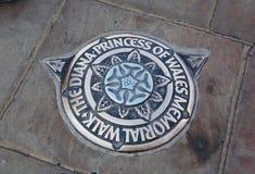 la passeggiata commemorativa della principessa di Cornovaglia di Dianna immagini stock libere da diritti