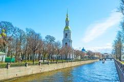 La passeggiata del canale di Krukov a St Petersburg Immagine Stock