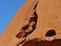 La passeggiata di Mala nel centro rosso australiano Fotografie Stock