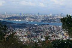 La passerelle de Bosphorus Photo stock