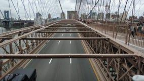 La passerelle de Brooklyn photographie stock libre de droits