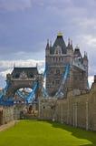 La passerelle de Londres Image stock