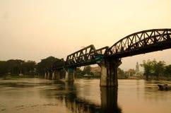 La passerelle du kwai de fleuve Images stock