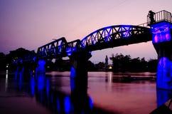 La passerelle du kwai de fleuve Image stock