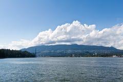 La passerelle Vancouver du lion images libres de droits