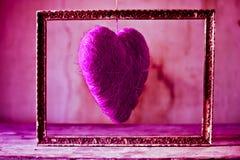 La passion et l'amour d'une couleur simple Images stock