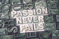 La passion n'échoue jamais réuni Photo libre de droits
