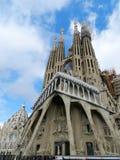 La passion par Gaudi photographie stock