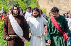 La passione di Cristo Fotografia Stock Libera da Diritti