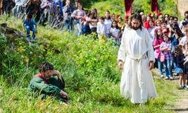 La passione di Cristo Immagine Stock