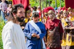 La passione di Cristo Immagini Stock Libere da Diritti