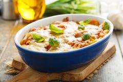 La pasta cuoce Immagine Stock