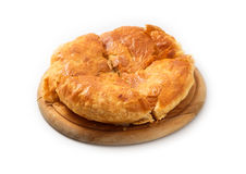 la pasta de hojaldre con queso Imagen de archivo libre de regalías