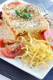 Pasta del pomodoro Immagini Stock