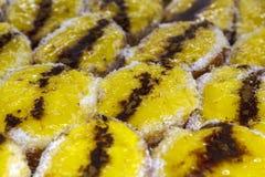 La pasticceria portoghese tipica ha chiamato Patas de Veado fotografia stock libera da diritti