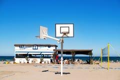 La Patacona beach in Alboraya, Spain Stock Photo