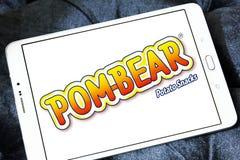 La patata di POM-BEAR fa un spuntino il logo di marca Fotografie Stock Libere da Diritti