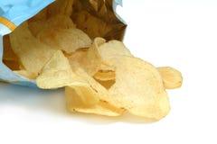 La patata ha fritto, chip Fotografia Stock Libera da Diritti