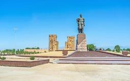 La patrie d'Amir Timur Images stock