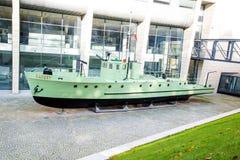 La patrouille de bateau Photos libres de droits