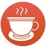 La pause-café, icône de vecteur d'isolement par tasse peut être facilement éditent et modifient illustration de vecteur