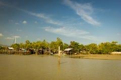 La pauvre Communauté à Phuket Photo libre de droits