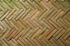 La pavimentazione del mattone Fotografie Stock