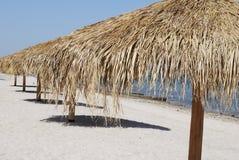 La Paz Beach. Empty beach in small resort town La Paz, Mexico Royalty Free Stock Image