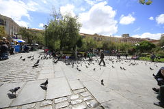La paz Bolívia Fotografia de Stock Royalty Free