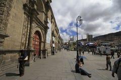 La paz Bolívia Fotos de Stock Royalty Free
