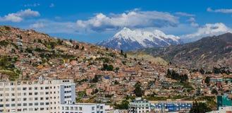 La paz Bolivië Royalty-vrije Stock Foto's