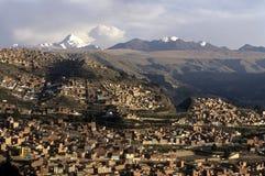 La Paz- Bolivië Stock Afbeelding