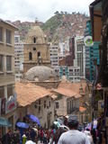 La Paz, Bolivië Stock Afbeeldingen