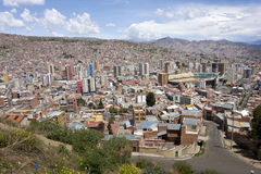 La Paz, Bolivia. Stock Photography