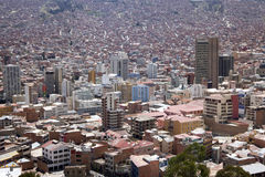 La Paz, Bolivia. Stock Photo
