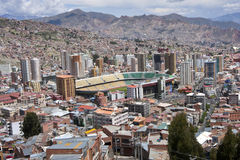 La Paz, Bolivia. Royalty Free Stock Images