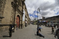 La paz Bolivia Fotografie Stock Libere da Diritti