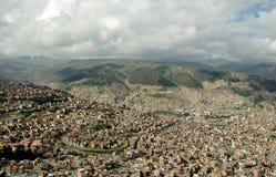 La Paz, Bolivia. View of La Paz, Bolivia stock images