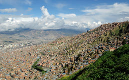 La Paz, Bolivia Royalty Free Stock Images