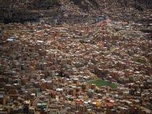 La-Paz Bolivia Downtown-Foto der historischen Hauptstadt Lizenzfreies Stockfoto